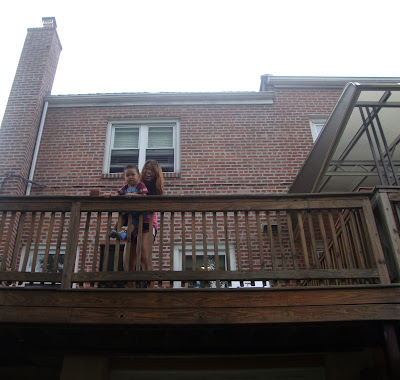 Balcony In New York