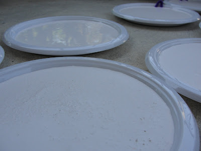 plaster in plate forms