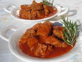 Ternera con tomate Ana Sevilla