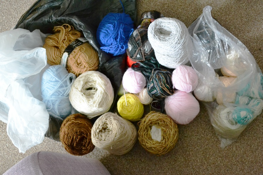 yarn haul stash ebay job lot purchase photo an hour may 2016