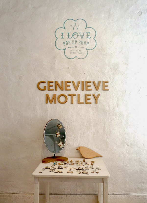 the I Love Pop Up Shop by Genevieve Motley at artSPACE Durban