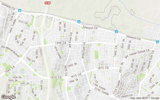 piyade mahallesi harita