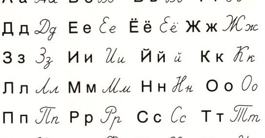 Wspaniały Kaligrafia po rosyjsku czyli jak poprawnie pisać. JW16