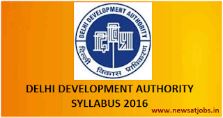 dda+recruitment+syllabus+2016