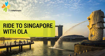 Fly to Singapore with Ola & Mahindra Club in March