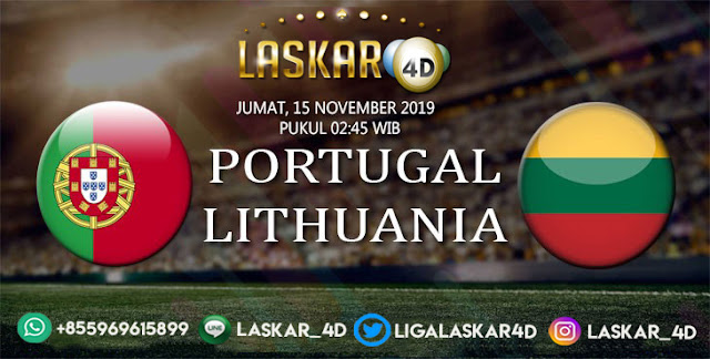 Prediksi Pertandingan Bola Portugal vs Lithuania 15 November 2019