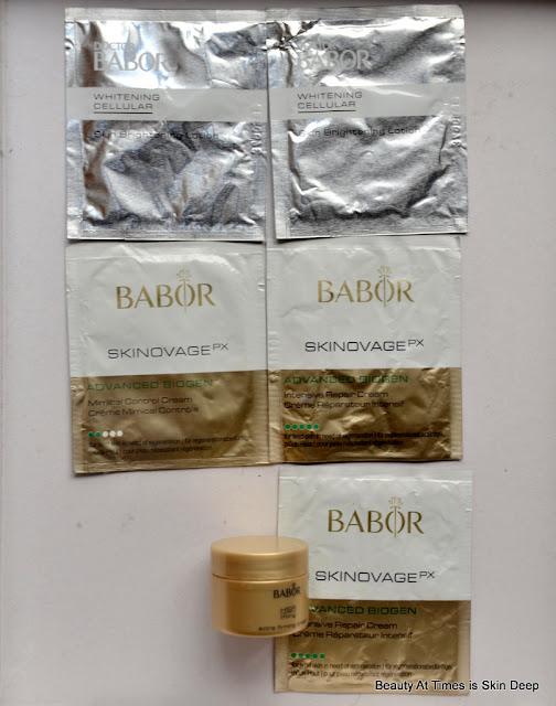 Babor creams
