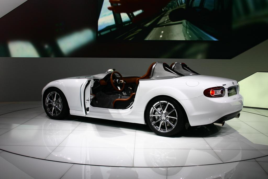 Mazda MX-5 Superlight Concept, 日本車, スポーツカー, オープンカー, マツダ, NC, trzecia generacja