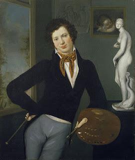 Moritz Daniel Oppenheim self portrait