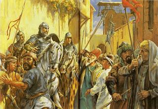 Viñeta de la Quinta Cruzada