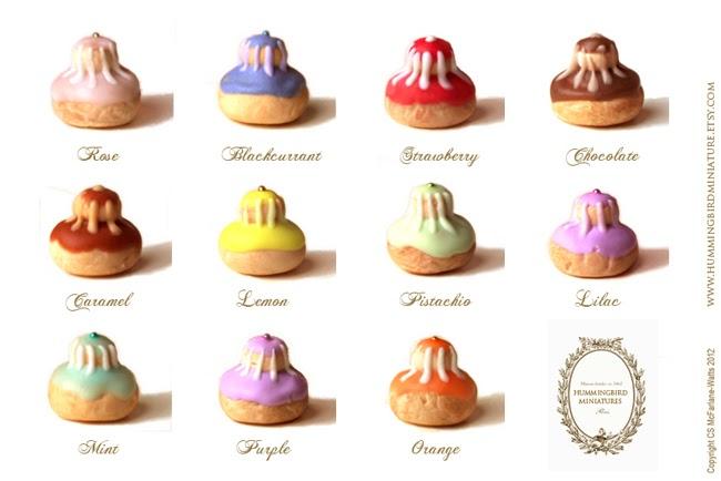 Hummingbird Miniatures Pastries From Paris