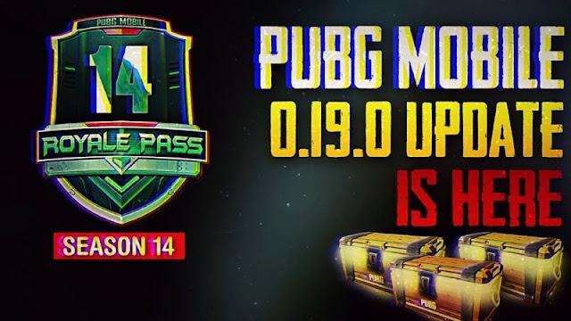 PUBG Mobile 0.19.0 güncellemesi beklenen çıkış tarihi?
