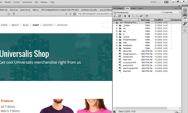 Business Catalyst Extension For Adobe Dreamweaver