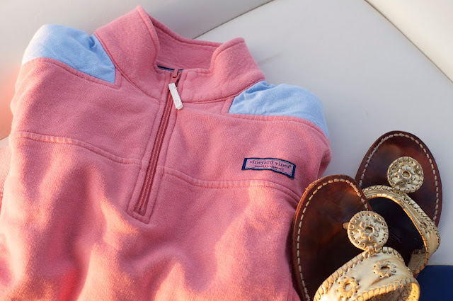 Vineyard Vines Shep Shirt and Jack Rogers Sandals