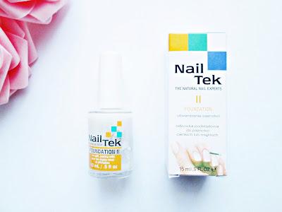 Nail Tek II utwardzająca odżywka do paznokci rozdwajające