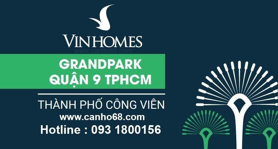 Bảng giá Vinhomes Grand Park mới nhất 2019