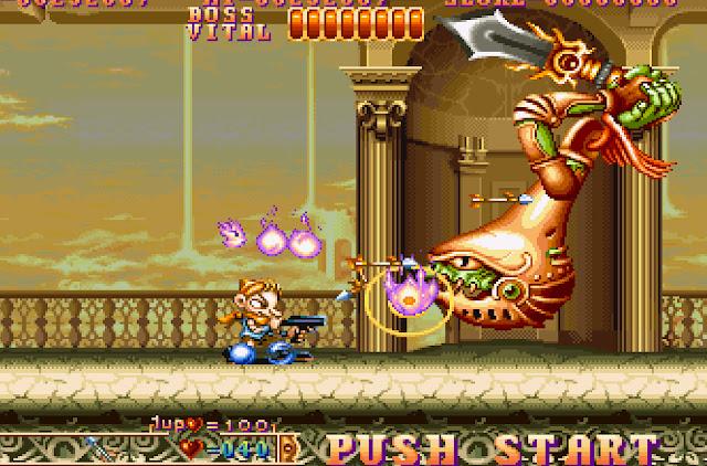 Three Wonders Stage 3 Main Boss Screenshot