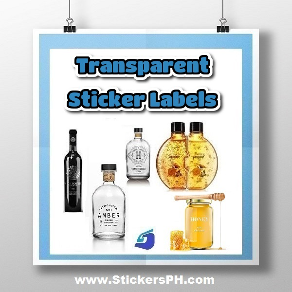 Transparent Sticker Labels, Clear Vinyl Philippines