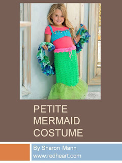 http://www.redheart.com/free-patterns/petite-mermaid-costume