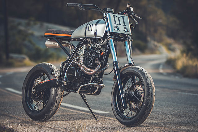 Honda XR600 By Duke Motorcycles Hell Kustom