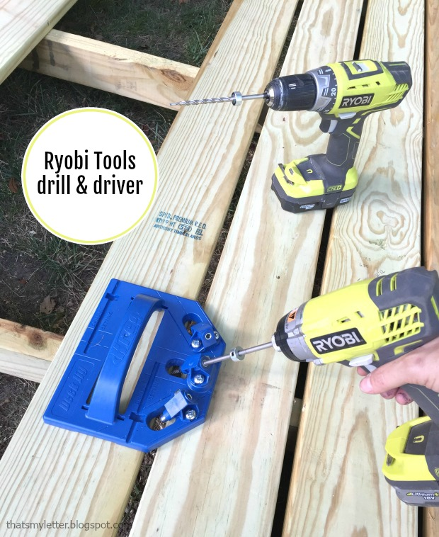ryobi tools drill and driver
