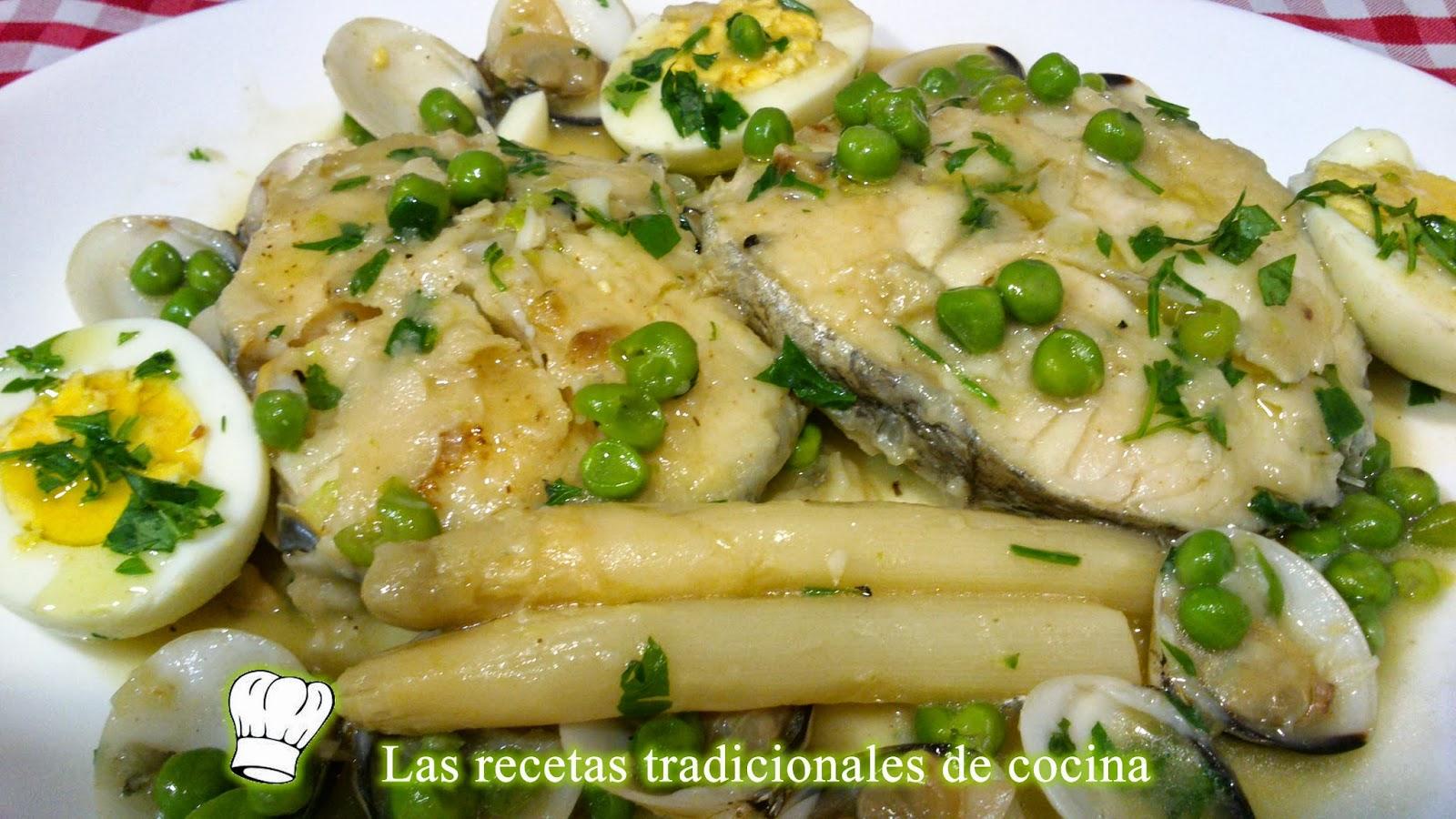 Receta de merluza a la vasca recetas de cocina con sabor - Recets de cocina ...