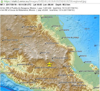 Powerful 7.4 earthquake hits southern Mexico
