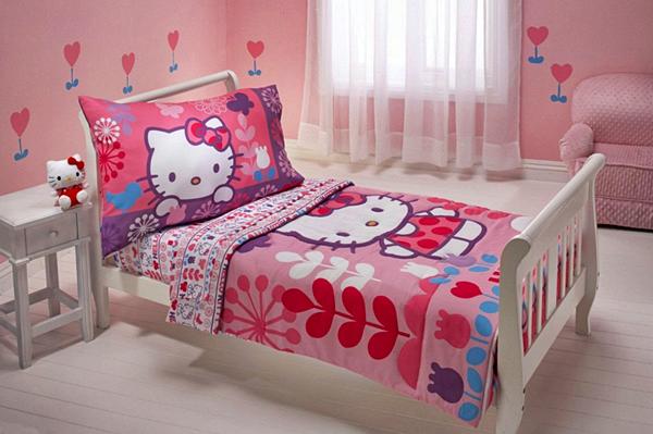 10 Model Tempat Tidur Minimalis Untuk Anak Perempuan Bertema Pink !