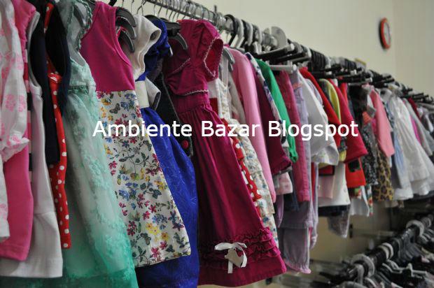 Fardo de roupa para bazar infantil