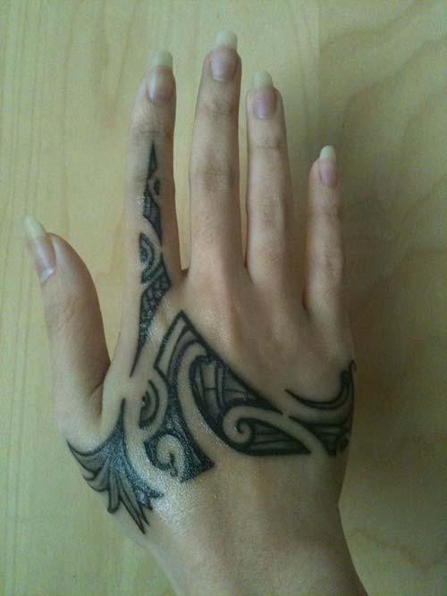 kadın el maori tribal dövmeleri woman hand maori tribal tattoos