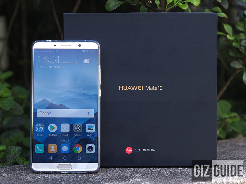 Huawei Mate 10 Unboxing and First Impressions