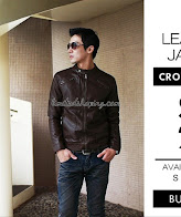 limited shoping sk26 cokelat jaket korean style