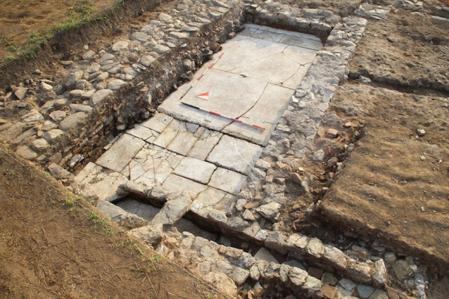 Two Roman villas unearthed at Luni archaeological site in Liguria, northern Italy