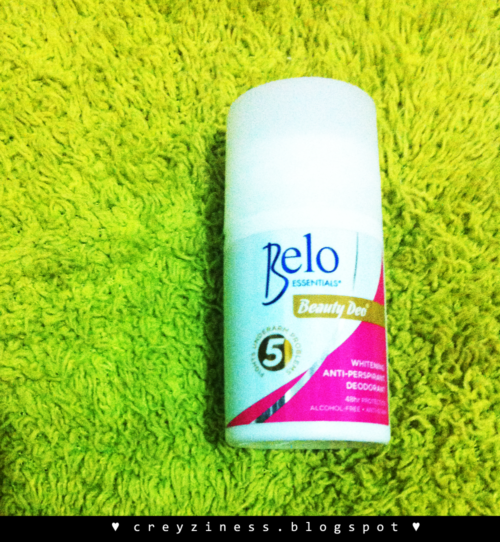 When I Let Belo Touched My Armpit The Belo Beauty Deo Review