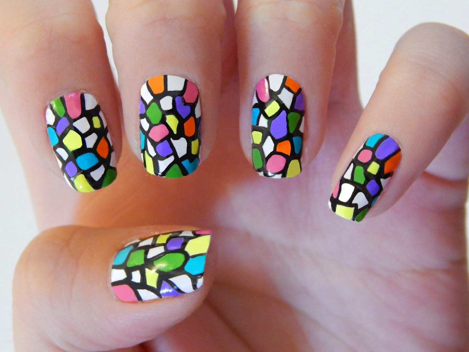 Diseños de uñas, Uñas acrilicas