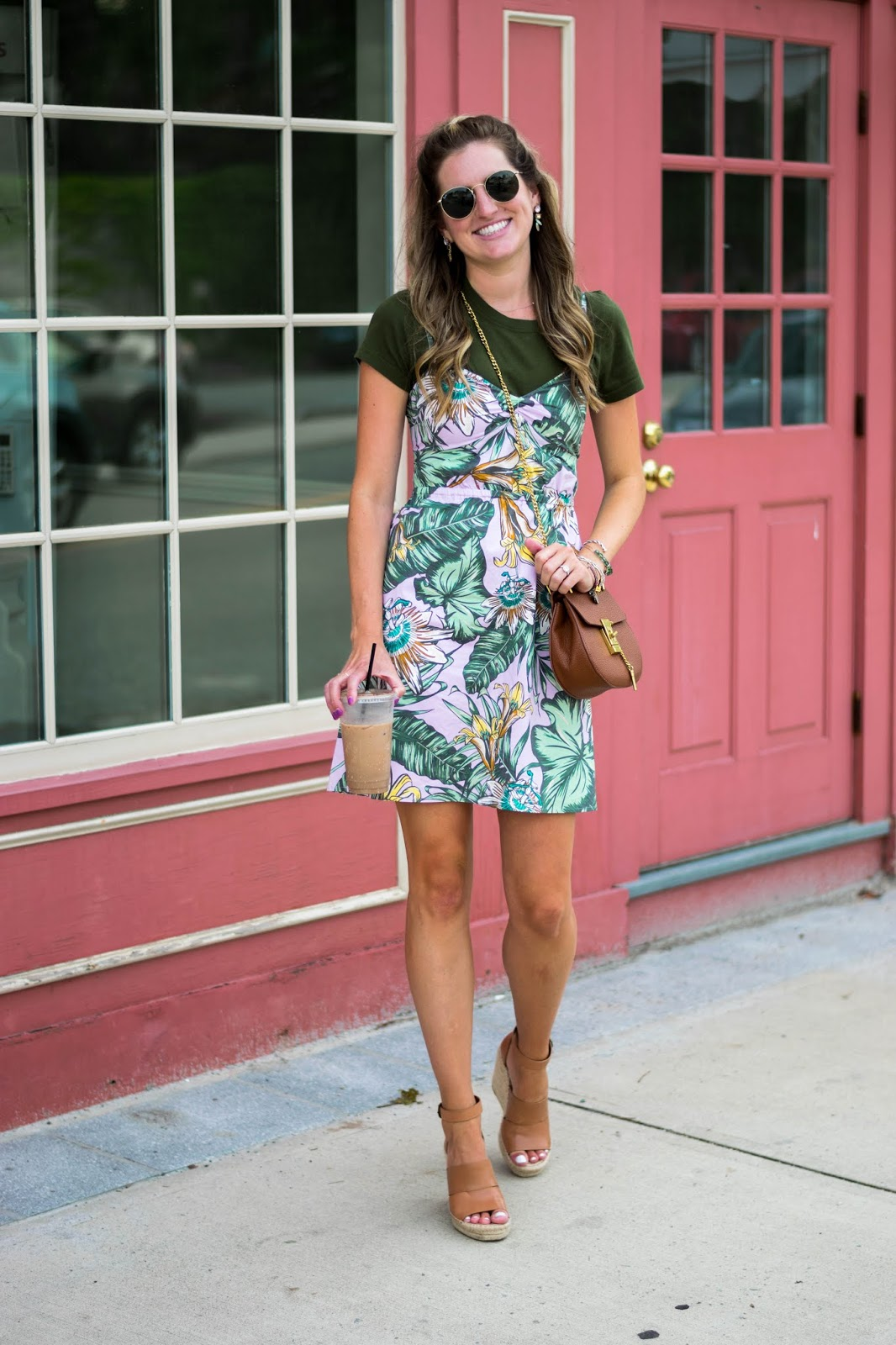 caa0c055c58 how to style your summer dresses for work ~ Roses and Rain Boots