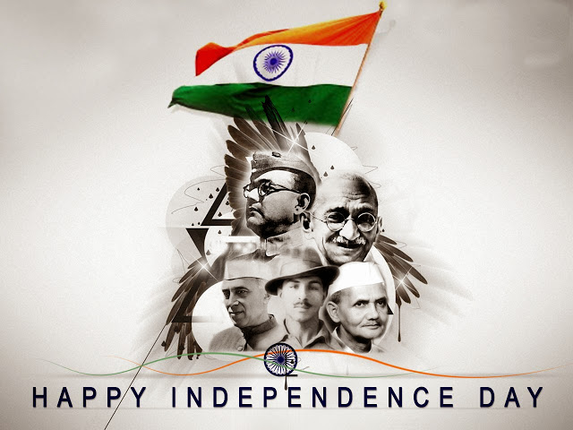 15 AUGUSTHappy Independence Day