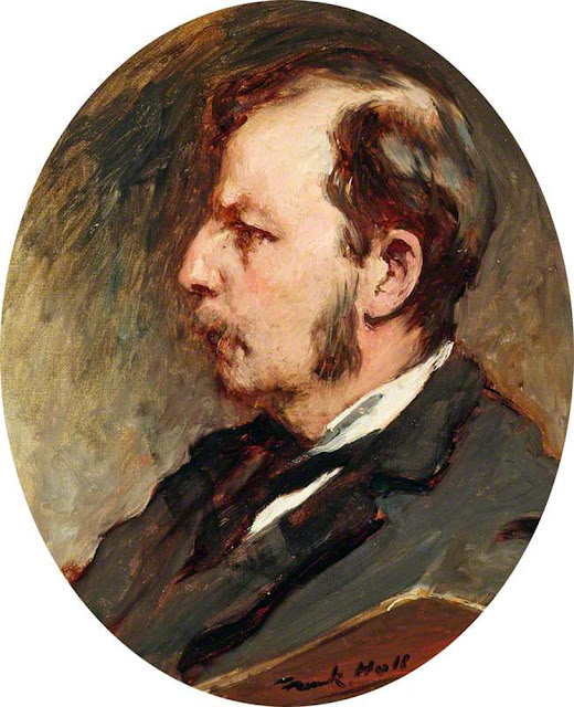 Frank Holl, Self Portrait, Portraits of Painters, Fine arts