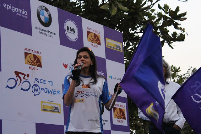 Mumbai comes together in large numbers to pedal away the stigma of mental illness