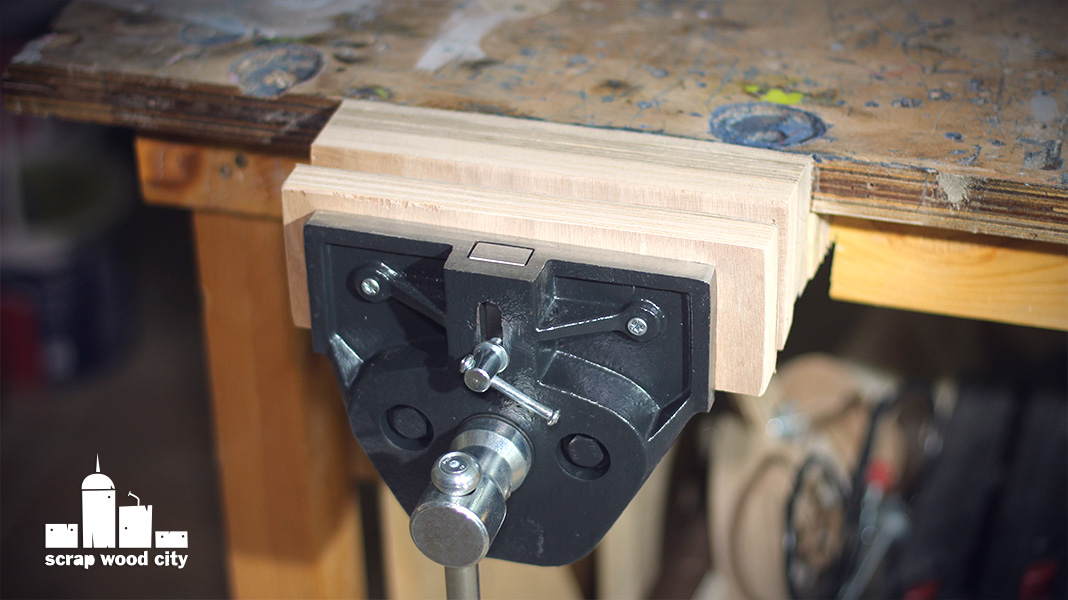 Scrap Wood City How To Install A Woodworking Bench Vise