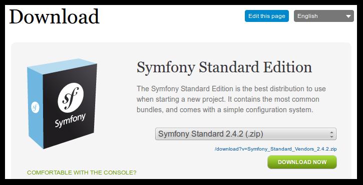 symfony2 zip
