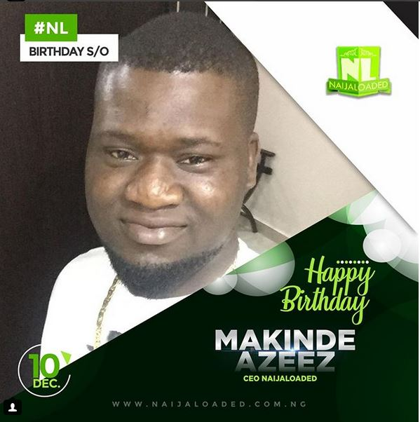 Makinde Azeez CEO Naijaloaded