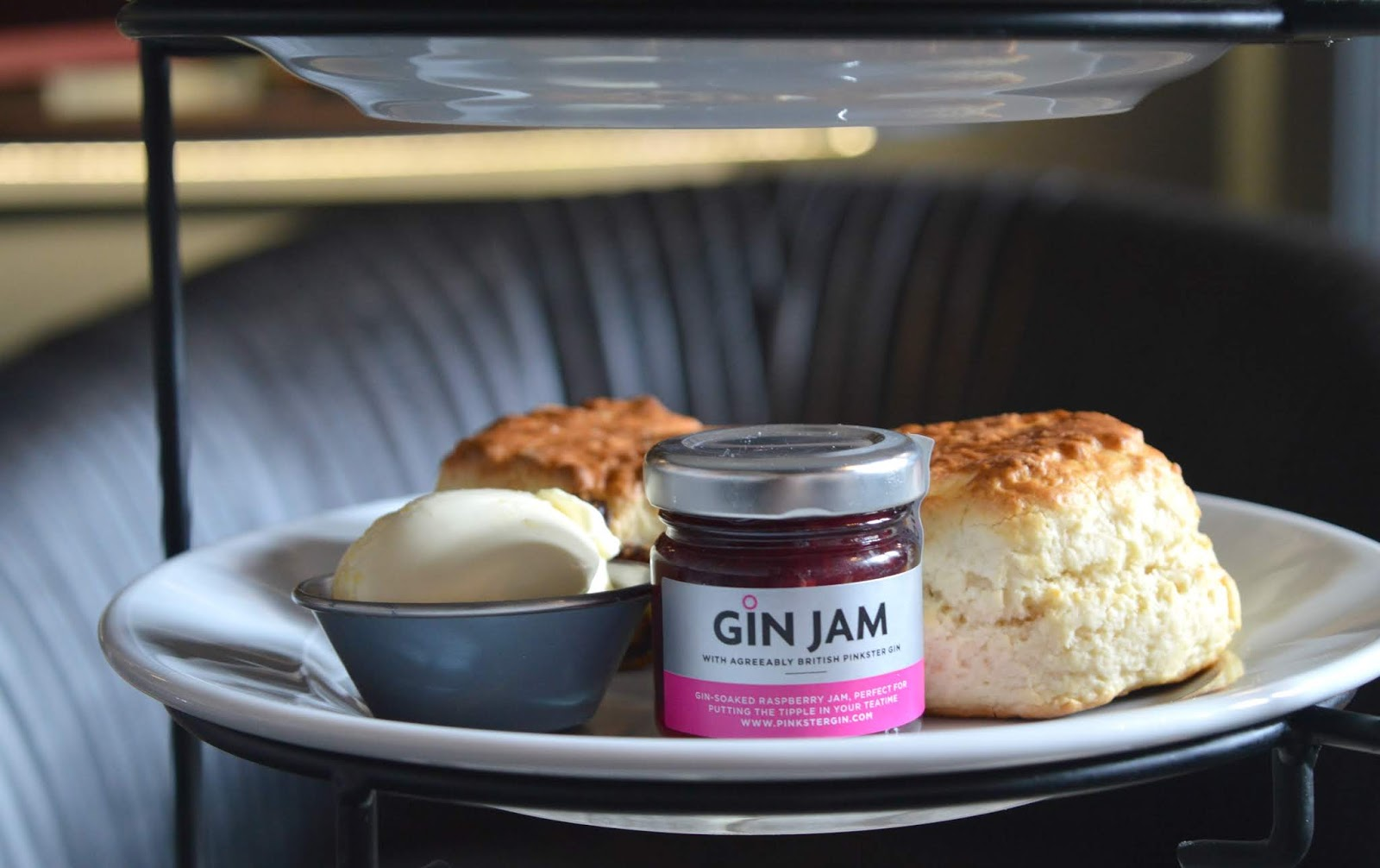 Pinkster Gin Jam Afternoon Tea Union Rooms, Newcastle
