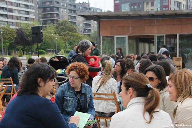 El parque de Los Hermanos acoge el jueves 25 de mayo el cuarto encuentro de euskaldunes