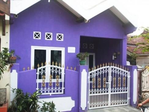 Dekorasi Cat Rumah Warna Ungu