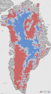 The mapping of the canyon areas under Greenland are causing problems not only for secular geologists, but for global warming adherents as well.
