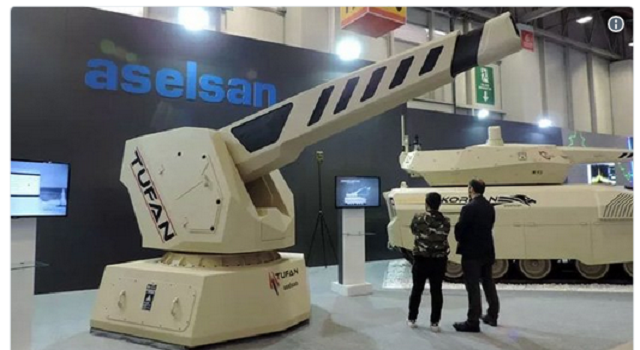 Το ηλεκτρομαγνητικό πυροβόλο της Τουρκίας Τufan γίνεται πραγματικότητα