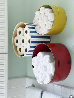 papel higienico en  el baño