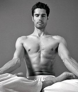 mantra male meditating