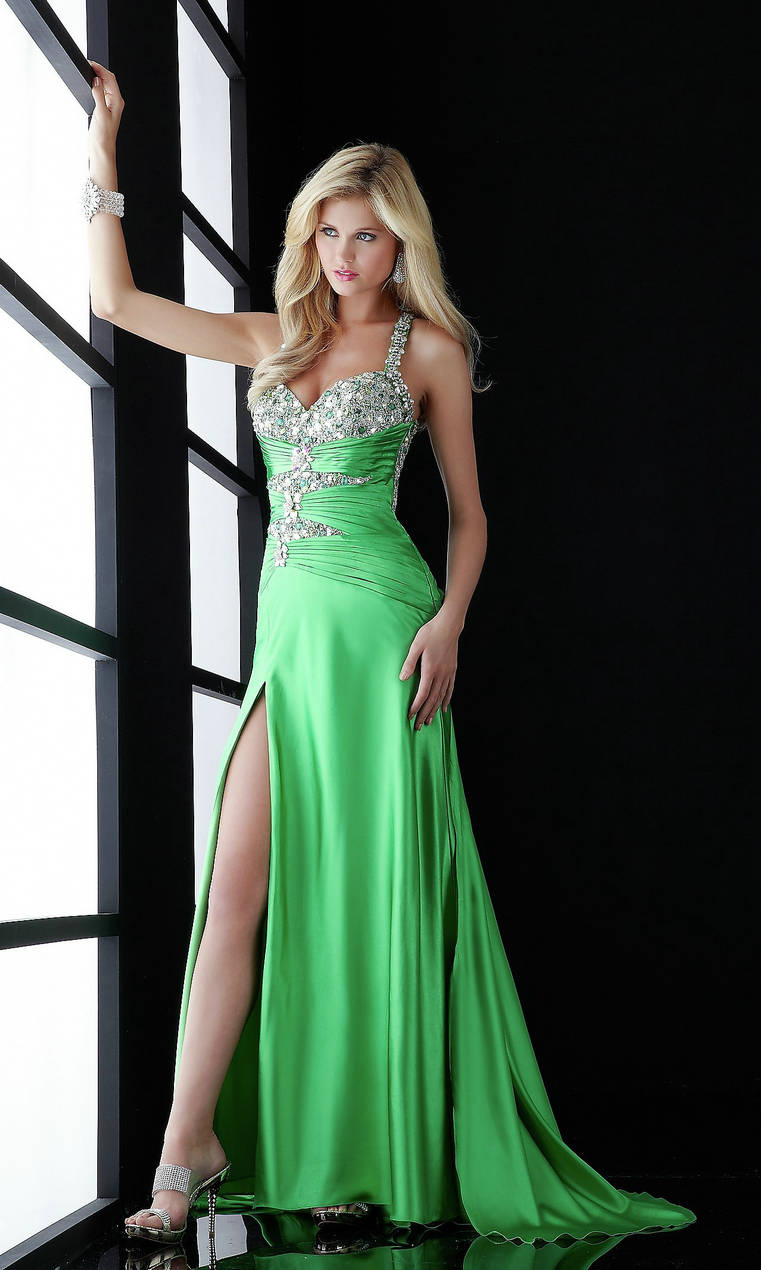 Dress bare leg Prom dresses - Dresses long - women's fashion